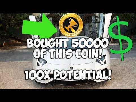 I BOUGHT 50000 OF THIS COIN! 100x Potential!