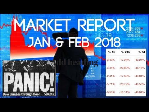 Market Report For Jan/Feb 2018 (Bloodbath for Cryptocurrency & Traditional Markets)