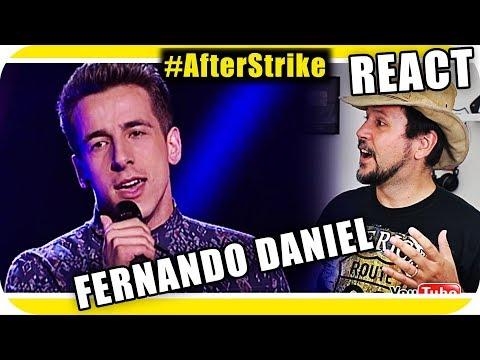 FERNANDO DANIEL THE VOICE PORTUGAL – Marcio Guerra Reagindo Adele React Sia Reação #AfterStrike