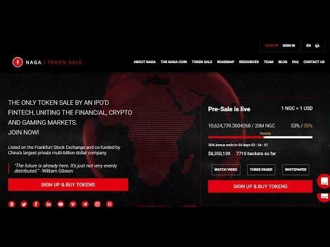 Naga Coin ICO – 30% Bônus até dia 27 – Avaliação completa