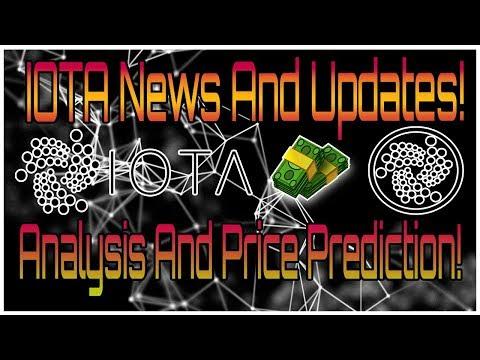 IOTA News, Updates, and Analysis! 2018 Price Prediction and the Future of IOTA!