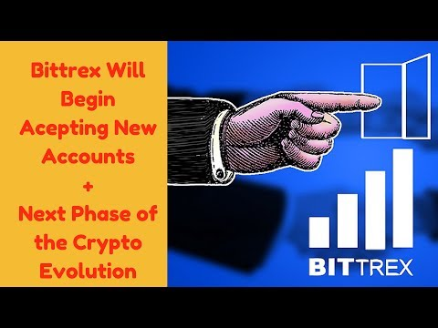 Bittrex Will Begin Accepting New Accounts + Future of DIgibyte