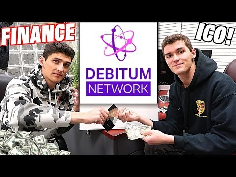 Finance Industry Meets Cryptocurrency! (Debitum ICO Review / JR Business)