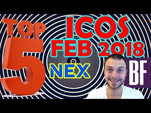 ⭐️ Top 5 Cryptocurrency ICOs: February 2018 ?