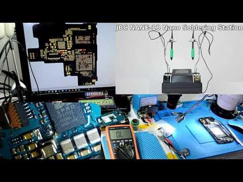 reparación Samsung Galaxy Grand Neo GT-i9060 no enciende en fuente marca 220 mA después de power