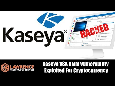 Kaseya VSA RMM Vulnerability Exploited For Cryptocurrency Mining Attack… AGAIN!