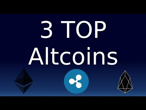 Top 3 Altcoins for 2018! Cryptocurrency