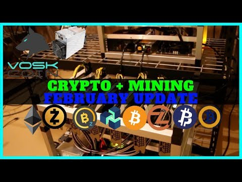 VoskCoin February Cryptocurrency and Mining Farm Update – Diversify Crypto Portfolio