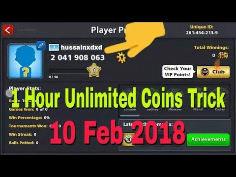 OMG! 8 Ball Pool New Coins Trick 100% Working