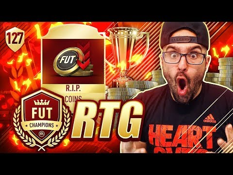 OMG IM SORRY! I WASTED ALL OUR COINS RIP! FIFA 18 Ultimate Team Road To Fut Champions #126 RTG