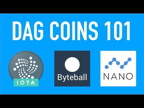 IOTA vs. NANO vs. ByteBall! A Simple DAG Coins Overview!