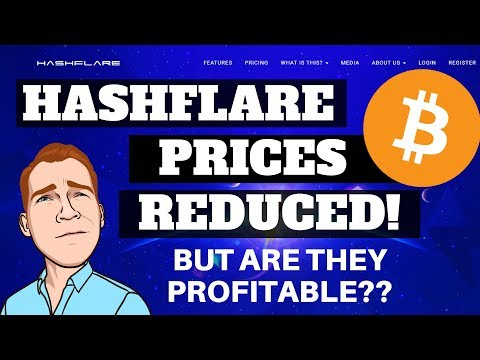 Bitcoin Mining on Sale! But is it Worth it?? Hashflare Lowers Their Prices