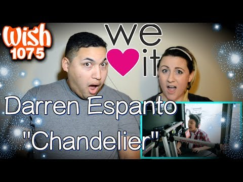 Darren Espanto – Chandelier (Sia) LIVE Cover on Wish FM 107.5 Bus|COUPLES REACTION