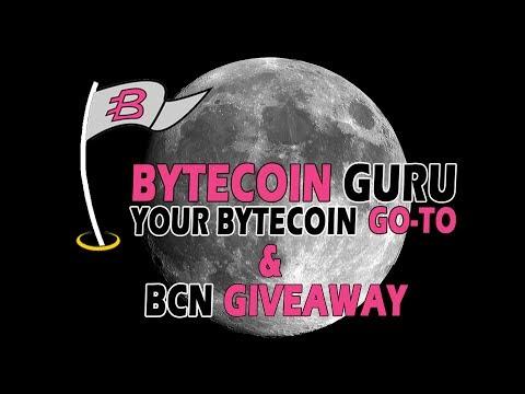 Bytecoin.Guru LAUNCHES! BCN GIVEAWAY!