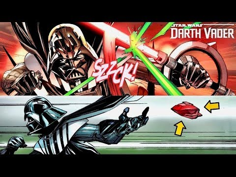 How Vader Was Forced to Rescue His Kyber Crystal And Use An Inquisitor's Lightsaber