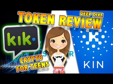 CryptoCurrency for Teens? – KIN is KIK for the BlockChain! – KIN Crypto Review