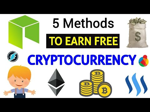 How to earn free cryptocurrency | 5 best methods ?❤️