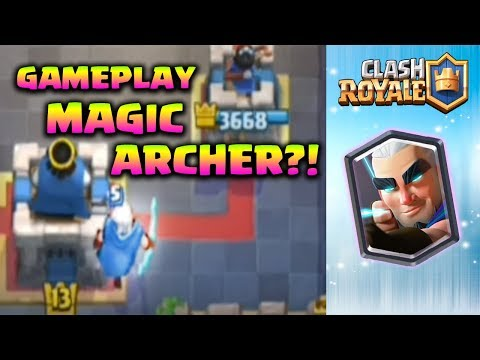 GAMEPLAY MAGIC ARCHER DAH ADA??!! – Clash Royale Indonesia