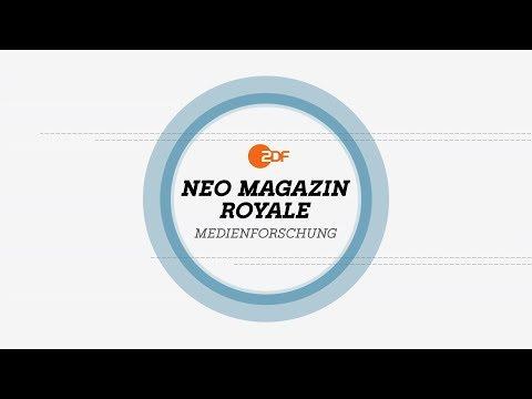 NMR Medienforschung: Was darf Satire? – Musik und Humor | NEO MAGAZIN ROYALE mit Jan Böhmermann