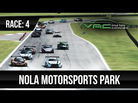 VRC 2018 GT3 Spring Series – Race 4: NOLA Motorsports Park