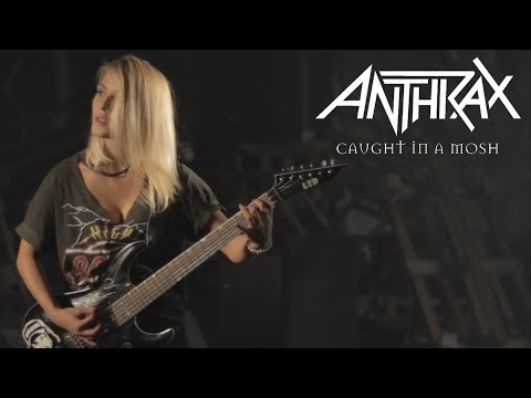 Anthrax – Caught in a mosh / Ada cover