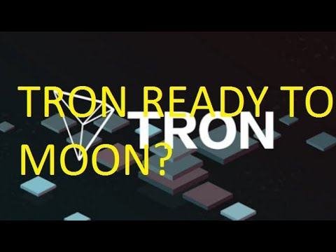 TRON (TRX) READY TO MOON? COIN PRICE PREDICTION 2018, FORECAST, NEWS,