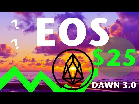 EOS Coin (EOS) Dawn 3.0 Aims at $25? – Ethereum Killer or Just Another SCS?