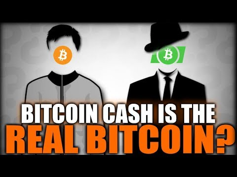 Oh, Really? Bitcoin Cash is the Real Bitcoin?