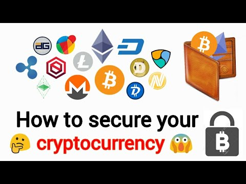 How to safely store your cryptocurrency (hindi)