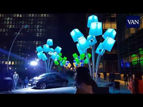 Un minuto por el festival Llums BCN