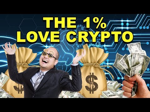 Do the 1% Love CryptoCurrency? – How Big Could Crypto Be? – CryptoCurrency Market News