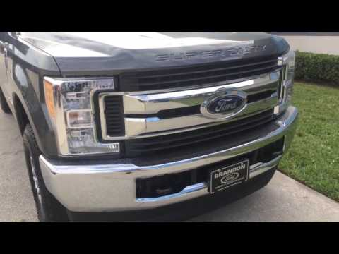 2017 FORD F-250 SUPER DUTY STX 6.7L 4×4 WALK AROUND