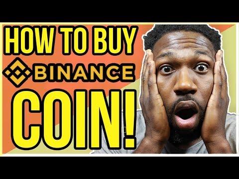 HOW TO BUY BINANCE COIN (BNB)!