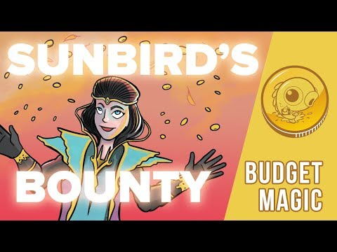 Budget Magic: $64 (34 tix) Sunbird's Bounty (Standard)