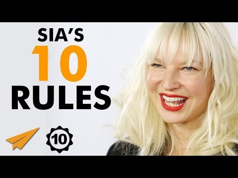 """""""Don't CARE What People THINK!"""" – Sia (@Sia) – Top 10 Rules"""