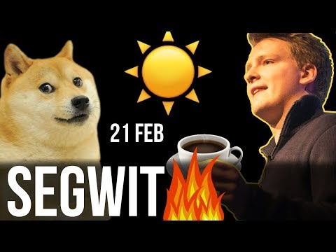 SegWit on FIRE ? ETH ASICS, Vitalik ICO, Lisk Rebranding,  Petro,
