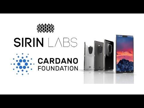SIRIN LABS INTERGRATES CARDANO ADA WITH BLOCKCHAIN SMARTPHONE FINNEY