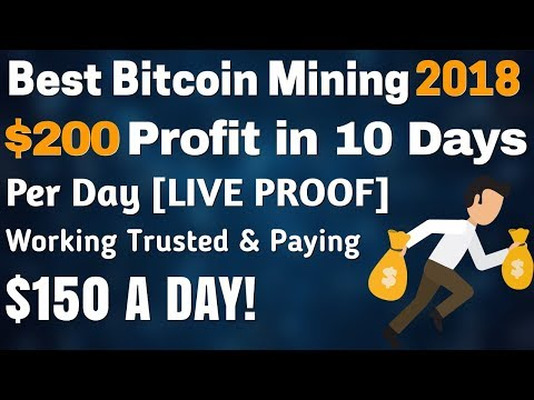 EARN BITCOIN | Best Bitcoin Mining Website 2018 – $200 Live Withdrawl Proof