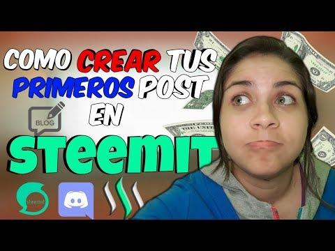 Crear post en steemit + publicarlos en Discord (PASO A PASO) | MAY VIL