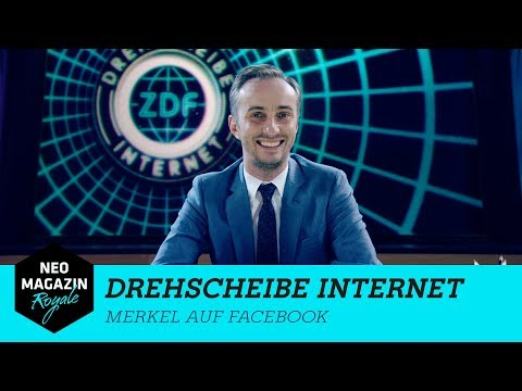 Drehscheibe Internet: Merkel auf Facebook | NEO MAGAZIN ROYALE mit Jan Böhmermann – ZDFneo