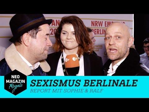 Sexismus auf der Berlinale 2018  – Report mit Sophie & Ralf | NEO MAGAZIN ROYALE mit Jan Böhmermann