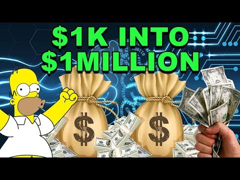 How to Turn $1,000 into $1,000,000! – CryptoCurrency Investment Strategy – Invest in Crypto