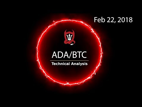 Cardano Technical Update (ADA/BTC) The three P's get rewarded in the market [02/22/2018]