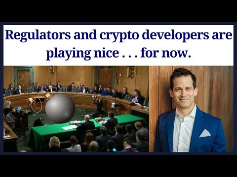 Regulators and cryptocurrency developers are all playing nice to adhere to regulations