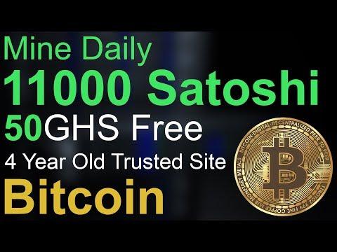 Mine Daily 11000 Bitcoin Satoshi – 50GHS Free – Cloud Mining – Earn & Mine Free Bitcoin – INFO TECH