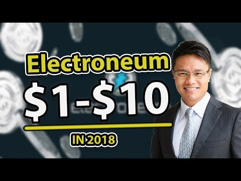 Electroneum Price Prediction 2018 – $1 To $10 (Mobile Crypto Mining)