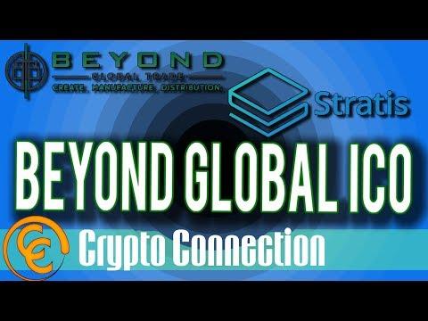 Beyond Global Trade – New ICO on Stratis