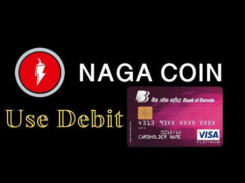 Nagacoin Will Use Debit Card For Trade / Naga Price Prediction Review 2018