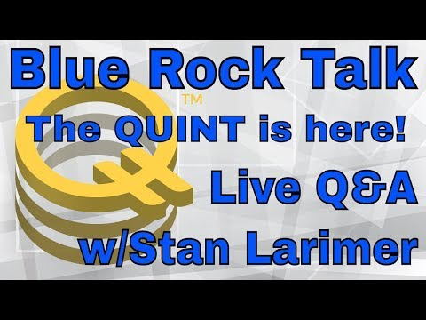 ?QUINT! Precious Metal-backed Crypto! Stan Larimer live w/Q&A!!
