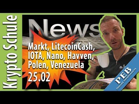 Crypto Newsletter 25.02. ⭐️ IOTA, Havven ICO, Litecoin Cash, Nano, Venezuela Petro.mp4